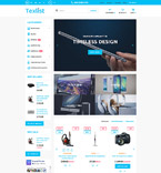 Electronics PrestaShop Template 58930