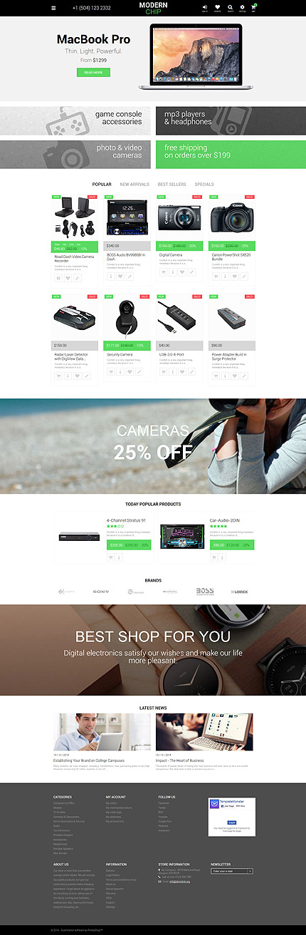 ADOBE Photoshop Template 58932 Home Page Screenshot