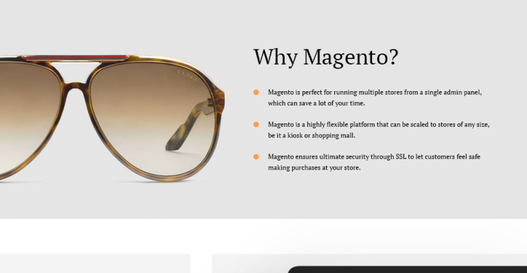 glasses shopping 72jd  Glassini is a responsive Magento theme made with a soft, neutral color  palette, which allows you to use it for a broad range of online stores