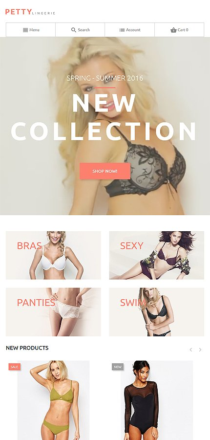 Magento Theme/Template 58938 Main Page Screenshot