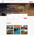Real Estate Website  Template 58944