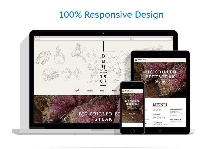 Modèles HTML5 Café et Restaurant #58947