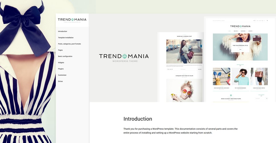 Tema de WordPress #58957 para Sitio de Bloges de moda