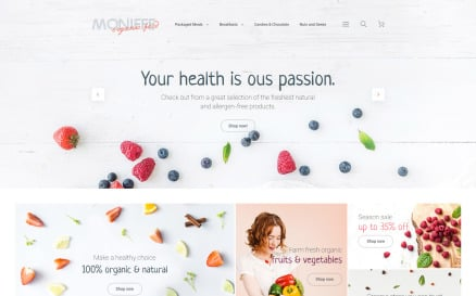 Monifee Magento Theme