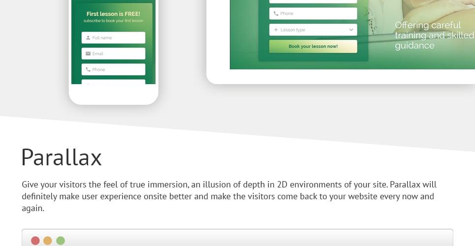 Traffic School Responsive Landing Page Template