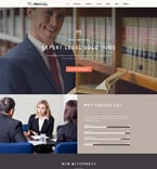 Law Website  Template 58966