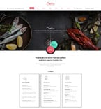 Cafe & Restaurant Website  Template 58974