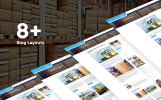 Moving Company Responsive Website Template