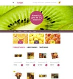 Agriculture VirtueMart  Template 58986