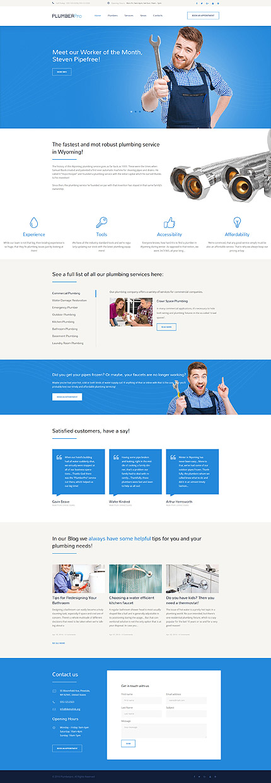 WordPress Theme/Template 58990 Main Page Screenshot