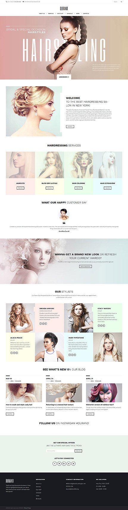 WordPress Theme/Template 58991 Main Page Screenshot
