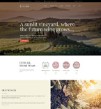 Agriculture WordPress Template 58992