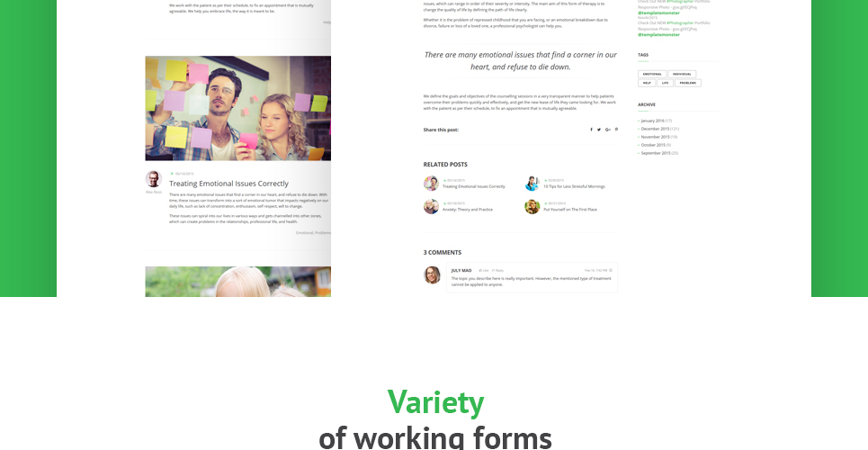 Ready Made Website Templates. 30 professional responsive ...