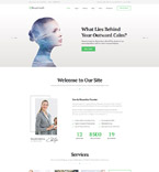 Medical Website  Template 58993