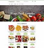 Food & Drink MotoCMS Ecommerce  Template 58994