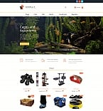 Animals & Pets MotoCMS Ecommerce  Template 58998