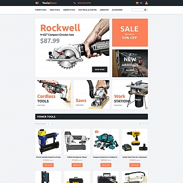 Preview image of Most Popular MotoCMS Ecommerce Template No. 58999