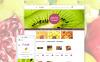 Адаптивный VirtueMart шаблон №58986 на тему фрукты New Screenshots BIG