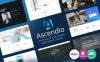 """Ascendio - Corporate & Business"" Responsive WordPress thema New Screenshots BIG"