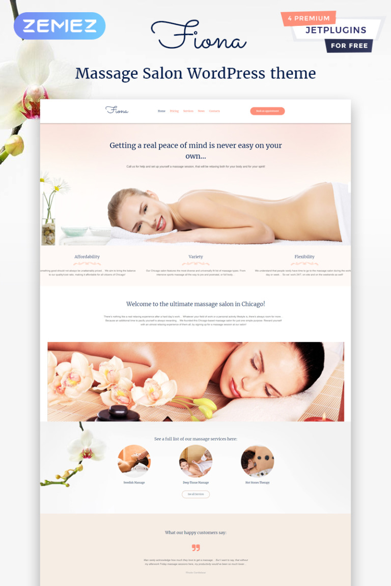 Beauty Spa & Massage Salon Responsive WordPress Theme New Screenshots BIG