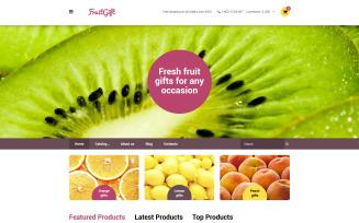 FruitGift VirtueMart Template