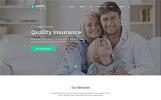 """HTML шаблон """"Reinsure на тему страхование"""""""