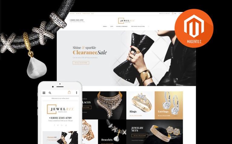 Jewelrix - Jewelry Store Magento 2 Theme New Screenshots BIG
