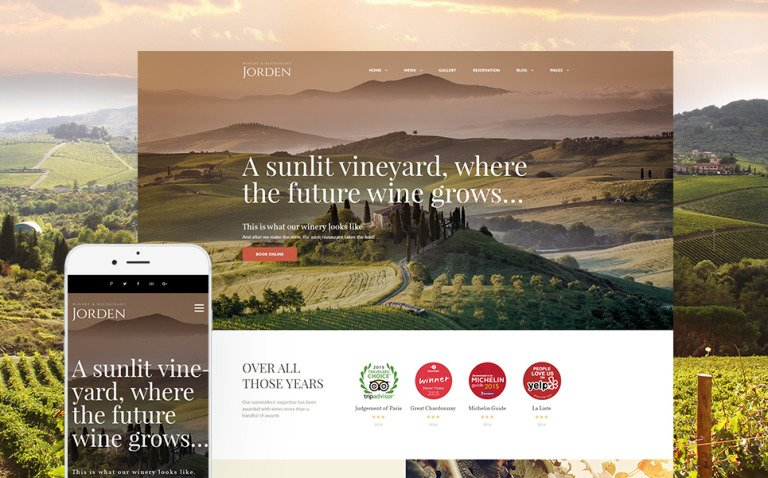 Jorden - Wine & Winery WordPress Theme New Screenshots BIG