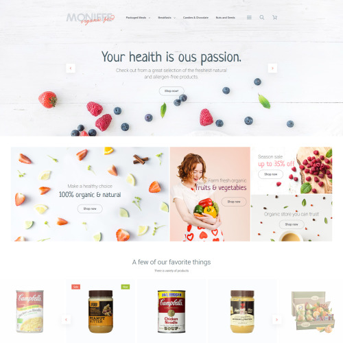 Monifee - Magento Template based on Bootstrap