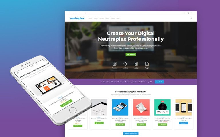 Neutraplex - Electronics WooCommerce Theme New Screenshots BIG