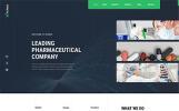 """Pharmacy Co. - Site Médical et Pharmacie"" modèle web adaptatif"