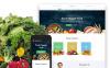 Plantilla Web para Sitio de Comida y bebida New Screenshots BIG