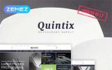 """""""Quintix - fournitures de restaurant"""" thème PrestaShop adaptatif"""