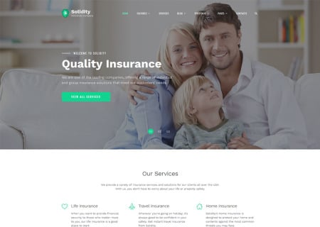 insurance company  template