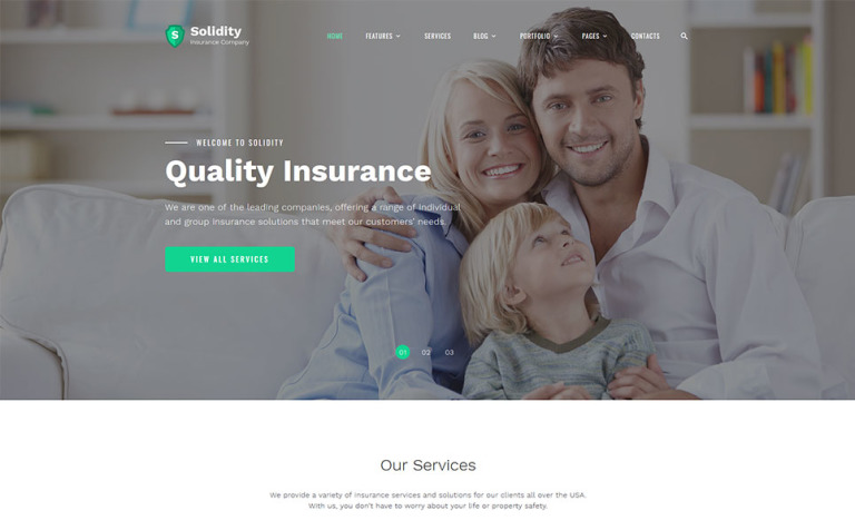 Reinsure Website Template