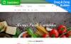 Responsywny ecommerce szablon MotoCMS #58994 na temat: sklep z żywnością New Screenshots BIG
