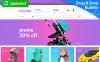Responzivní MotoCMS Ecommerce šablona na téma Obchod pro děti New Screenshots BIG
