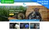 Responzivní MotoCMS Ecommerce šablona na téma Rybaření New Screenshots BIG