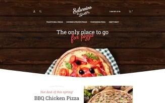 Saturnino - Pizza Responsive Magento Theme