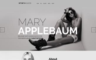 Stargaze - Media & Celebrity Responsive WordPress Theme