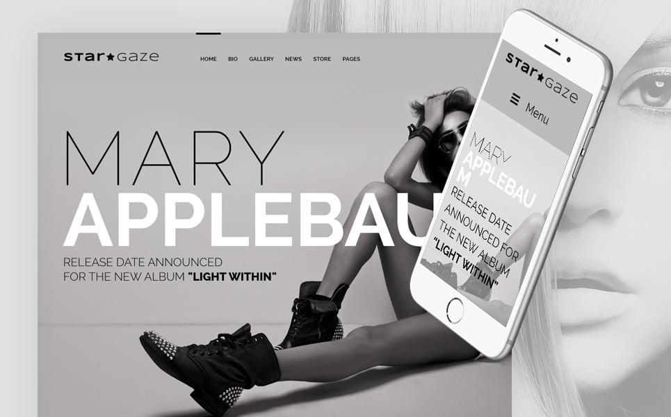 Stargaze - Media & Celebrity Responsive WordPress Theme New Screenshots BIG