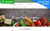 Template Ecommerce MotoCMS  Flexível para Sites de Loja de comida №58994 New Screenshots BIG