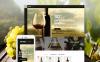 "Template PrestaShop Responsive #58927 ""Winetone"" New Screenshots BIG"