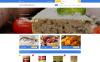 "Template Shopify Responsive #58945 ""Gourmania"" New Screenshots BIG"