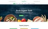 "Template Siti Web Responsive #58975 ""Organic Farm -  Food & Drink Multipage Creative HTML Bootstrap"""