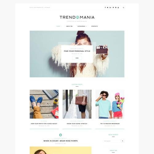 Trendomania  - Responsive WordPress Template