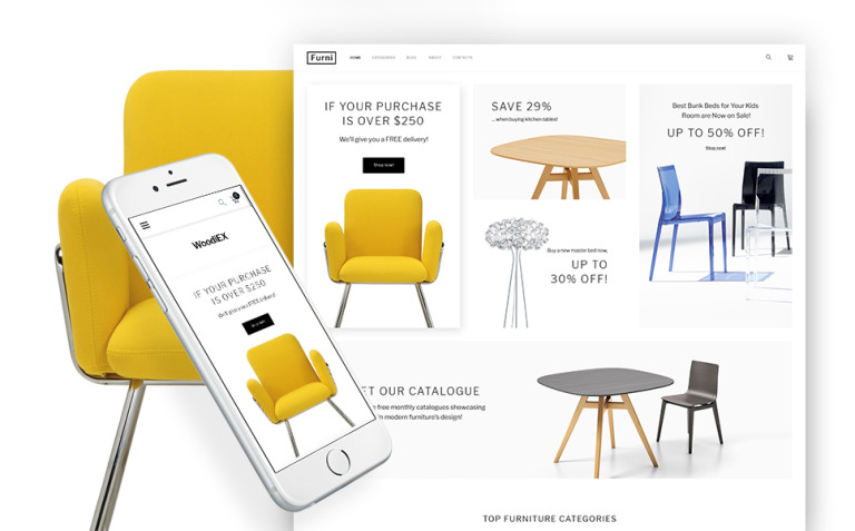 Woodiex - Furniture Shop WooCommerce Theme New Screenshots BIG