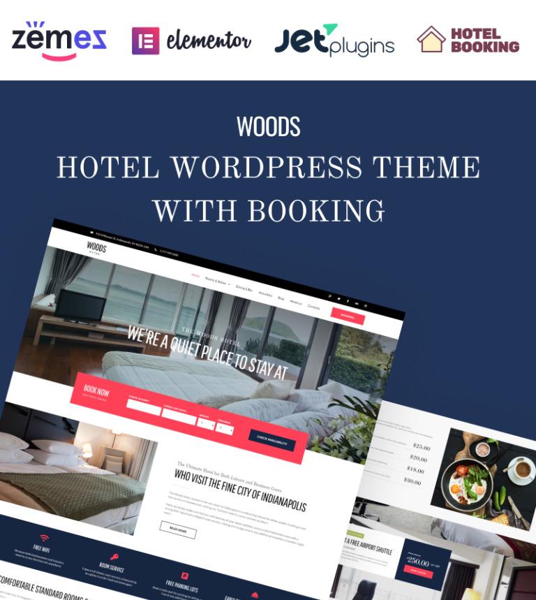 Hotel Booking WordPress Theme