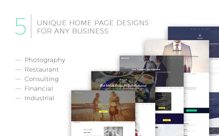 Spectrum business moto cms 3 template 59000 spectrum business moto cms 3 template big screenshot fandeluxe Gallery