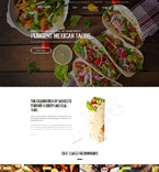 Cafe & Restaurant WordPress Template 59006